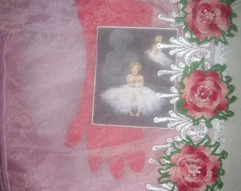 A Curtsey For Marilyn...Altered Journal...FREE SHIPPING