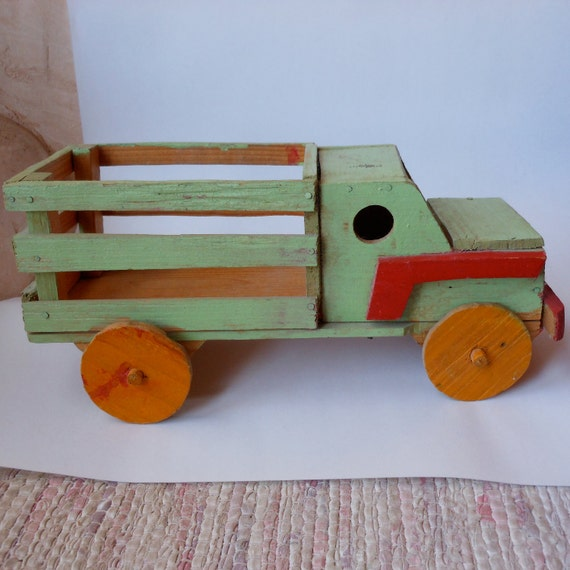 Vintage FOLK ART Pick Up truck
