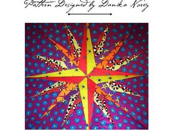 Mariner's Compass Paper Piecing Pattern
