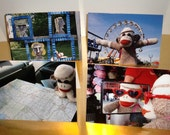 Ernie the Sock Monkey Has Fun Notecard Collection
