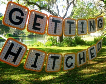 Getting Hitched Banner