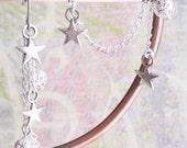 Star and Filigree Cuff Earring