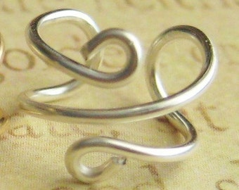 925 Sterling Silver Ear Cuff