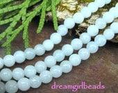 Amazonite 4mm Gemstone Round Beads