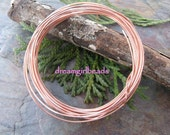 12 ft Bare Copper Wire 20 Gauge