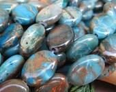 Aqua Terra Sherwood Forest Jasper 10mm Beads