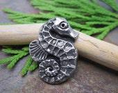 Seahorse Button from Green Girl Studios