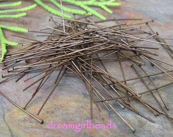 "Vintaj Natural Brass 2"" Head Pins"