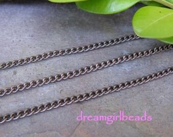 2FT Vintaj Delicate Curb 2mm Chain