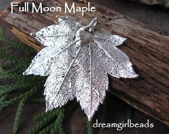 One Silver Dipped Full Moon Maple Leaf Bestseller
