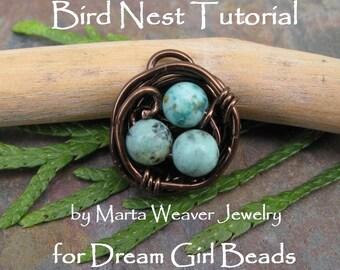 Bird Nest DIY Kit Tutorial, BESTSELLER