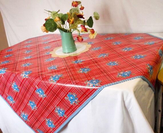 Oilcloth Tablecloth - Bouquet