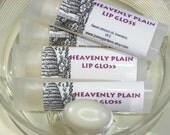 Plain Lip Balm-Unscented-Lip Gloss-Moisturizing-Oval tube
