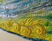 RESERVED for Marisha MarveLes SUMMER SHIMMER Art Quilt