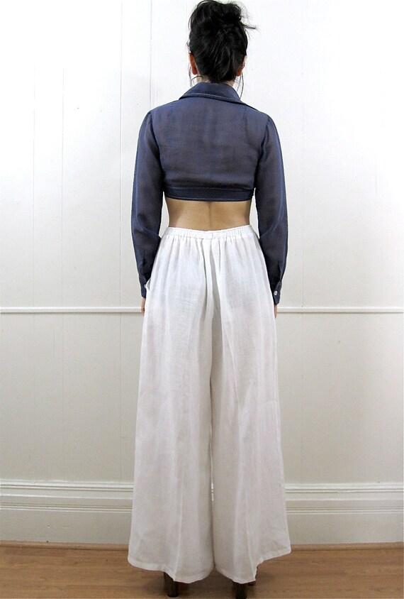 Loose Linen pants, wide leg pants, linen palazzo pants, wide leg white pants, linen trousers, white trousers, wide leg trousers LINO orchideaboutique out of 5 stars.