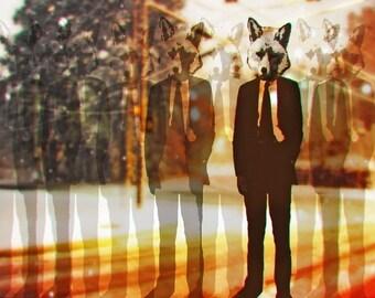 fox trot 18x24 poster