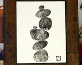 Original 8x10 Monoprint - Cairns Series XIII - Printed by Hand, OOAK