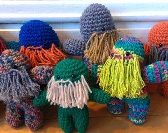 Crocheted Beardee Grab Bag
