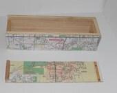 Madison Map Treasure Box