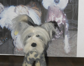 Custom Needlefelted Wool Sculpture of your pet