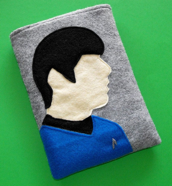 eReader Spock Inspired Case - fits Kindle, Nook, Kobo, Sony, Galaxy Tab and more