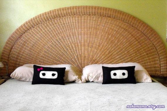 Ninja Pillows - His and Hers