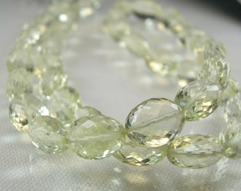 Scapolite Oval Nuggets   AAA  Micro Faceted Scapolite Oval Beads 8.5-11.30mm ,