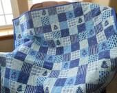 Let It Snow Flannel Quilt