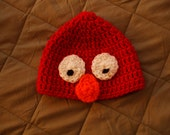 Elmo Inspired Hat