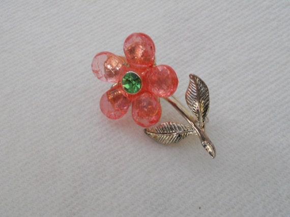 SALE on Vintage  Flower Pin