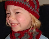 FOR CHERYL - Hat and Scarf Set