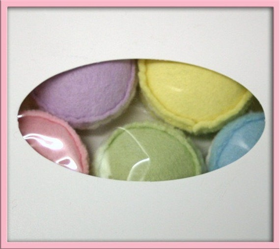 Wool Felt Play Food - Macarons for Kids Kitchen Sets