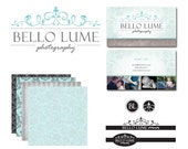 Custom PHOTOGRAPHY PACKAGE-Logo, Business Card, Watermarks and Digital Papers