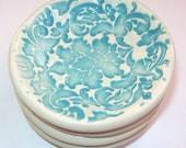 Set of 4 porcelain mini dish set