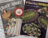 Vintage 1950 And 1951 Crochet Patterns Magazines (2 magazines)