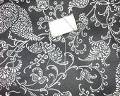 Black and White Heavy Cotton Fabric