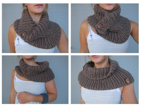 Pattern for the Bear Cove Cowl - knitting pattern