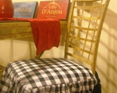 Gingham Chair Cover