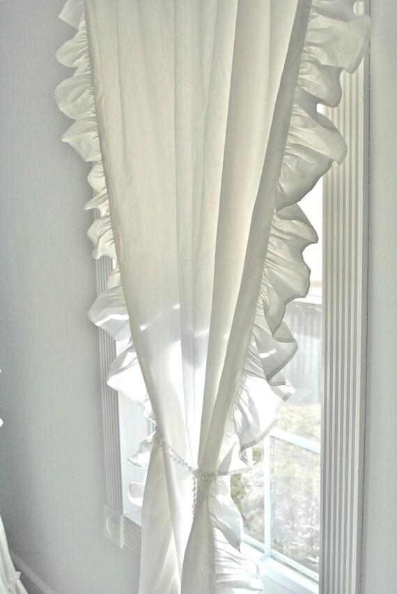 Ruffled Edge Chic Curtain