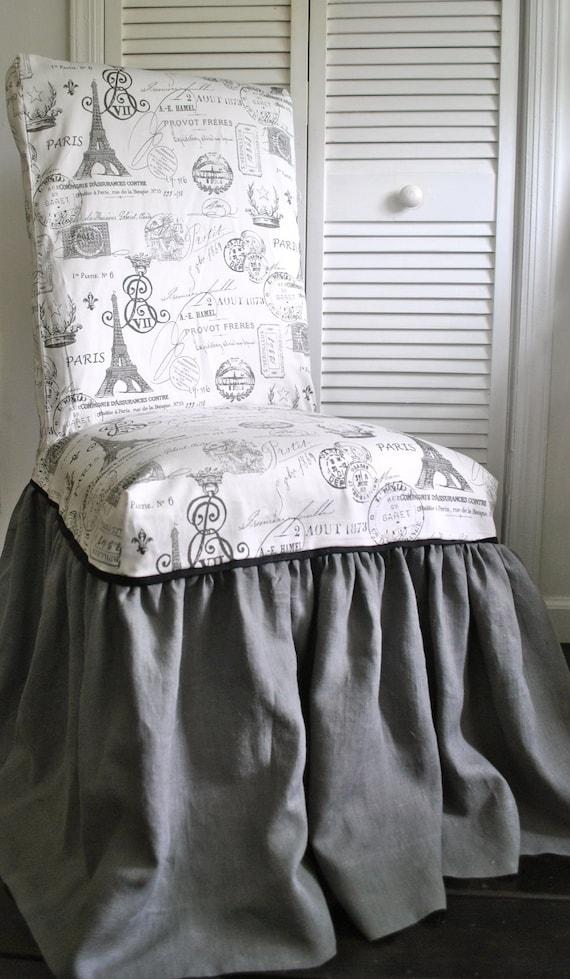 Paris Chic Chair Slipcover