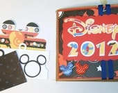 Reserved for Christie - Disney Autograph Book Paper Bag Scrapbook Album