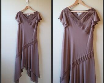 Smoky ruffles designer dress