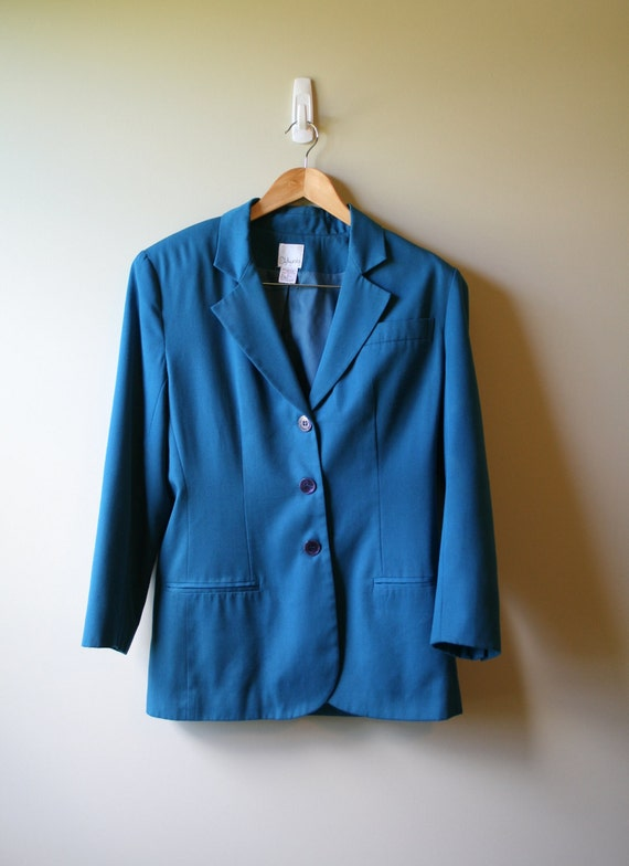 1970s vintage blue blazer/jacket
