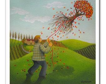 Tree Kite Print