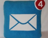 Mail Icon Pillow