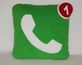 Phone Icon Pillow