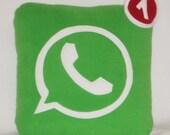WhatsApp Pillow