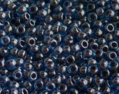 11/0 Toho Blue Raspberry Glass Seed Beads 10-Grams