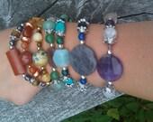 7 Chakras in Gemstones