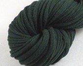 Dark Green Recycled T-shirt Yarn